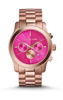 Michael Kors Bailey Rose Goldtone Stainless Steel Chronograph Bracelet Watch - Lyst