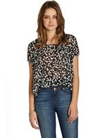 BCBGeneration Cuffed Top - Lyst