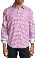 Robert Graham Centerbe Plaid Tailoredfit Sport Shirt Wine Xxl - Lyst