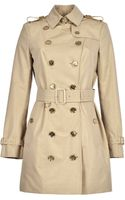 Burberry Brit Trench Gold - Lyst