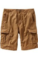 Old Navy Twill Cargo Shorts 11 - Lyst