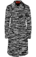 Missoni Wool Blend Knit Coat - Lyst