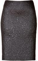 Philosophy di Alberta Ferretti Textural Jacquard Pencil Skirt - Lyst