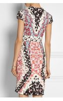 Peter Pilotto Hs Printed Stretchjersey Dress - Lyst