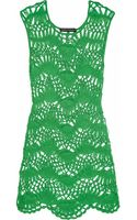 Melissa Odabash Julien Macdonald Cindy Crocheted Beach Dress - Lyst