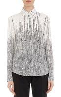 Balenciaga Disappearing Stripeprint Boy Shirt - Lyst