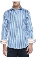 Robert Graham Vesuvius Striped Sport Shirt - Lyst