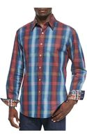 Robert Graham Roxy Plaid Sport Shirt - Lyst