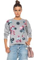 MSGM Embellished Pullover - Lyst