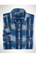 Polo Ralph Lauren Custom Ikat Plaid Workshirt - Lyst
