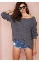 Nasty Gal Drop It Sweater  - Lyst