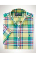 Polo Ralph Lauren Classic-fit Madras Shirt - Lyst