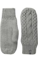The North Face Womens Cable Knit Mitt - Lyst