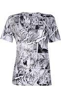 McQ by Alexander McQueen Short Sleeve T-Shirt - Lyst