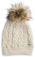 Tommy Hilfiger Furry Pom-pom Hat - Lyst