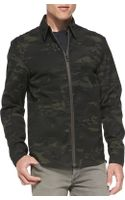 Rag & Bone Maddox Camoprint Shirt Jacket - Lyst