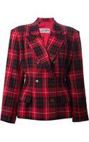 Jean Paul Gaultier Tartan Jacket - Lyst