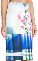 Clover Canyon Hollywood Bowl Neoprene Skirt - Lyst