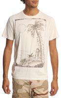Denim & Supply Ralph Lauren White Palm Tree Tshirt - Lyst