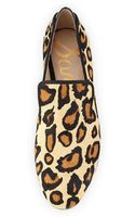 Sam Edelman Kalinda Leopardprint Calf Hair Loafer - Lyst