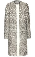 Etro Brocade Coat - Lyst