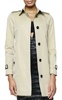 Burberry London Straight Single-breast Trench Coat - Lyst