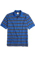 Brooks Brothers Original Fit Framed Stripe Polo - Lyst