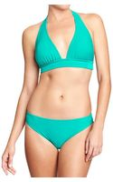 Old Navy Mix Match Halter Bikini Top - Lyst