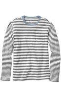 Gap Mixmatch Stripe Tshirt - Lyst