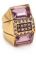 Oscar de la Renta Lilac Ring Lilac - Lyst