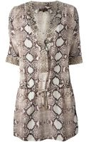 Roberto Cavalli Katano Stuck Beach Dress - Lyst