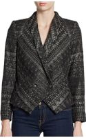 Twelfth Street By Cynthia Vincent Metallic Waiters Jacket - Lyst