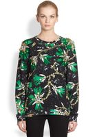 Mary Katrantzou Embroidered Roush Print Sweatshirt - Lyst