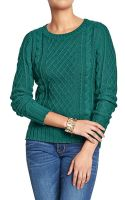 Old Navy Cable-knit Sweaters - Lyst