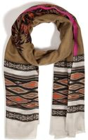 Etro Cashmere Printed Scarf - Lyst