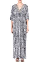 MICHAEL Michael Kors Printed Maxi Dress - Lyst