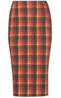 Altuzarra Djinn Cotton Pencil Skirt - Lyst