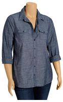Old Navy Plus Chambray Shirts - Lyst