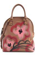 Burberry Prorsum Bloomsbury Medium Hand-painted Bag - Lyst