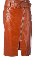 Jason Wu Leather Pencil Skirt - Lyst