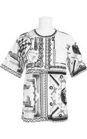 Anthony Vaccarello X Versus Versace Tshirt - Lyst