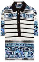 Emilio Pucci Silk Shirt - Lyst
