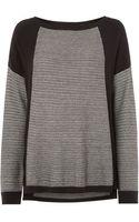 Linea Weekend Textured Knit Jumper - Lyst