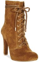 Inc International Concepts Womens Bisquit Lace Up Booties - Lyst