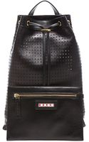 Marni Lamb Leather Backpack - Lyst