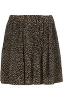 Michael by Michael Kors Floral Pattern Skirt - Lyst
