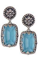 Konstantino Turquoise Doublet Drop Earrings - Lyst