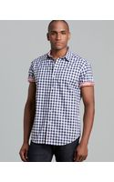 Robert Graham Aegean Gingham Dobby Short Sleeve Sport Shirt Classic Fit - Lyst