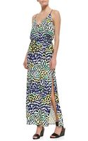 Milly Multi Leopard Print Maxi Dress - Lyst