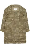 Current/Elliott Army Camo Jacket - Lyst